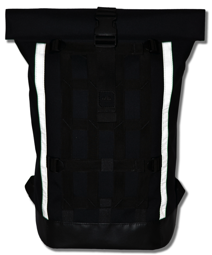 Optimized gud cycling rolltop black  reflected