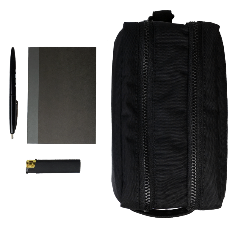 Optimized gud travel kit 2.0 black  up