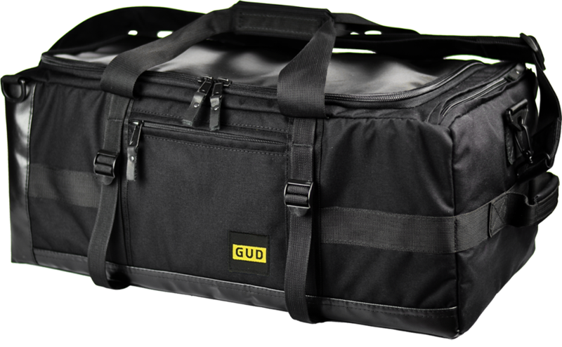 Optimized gud travel bag black  face