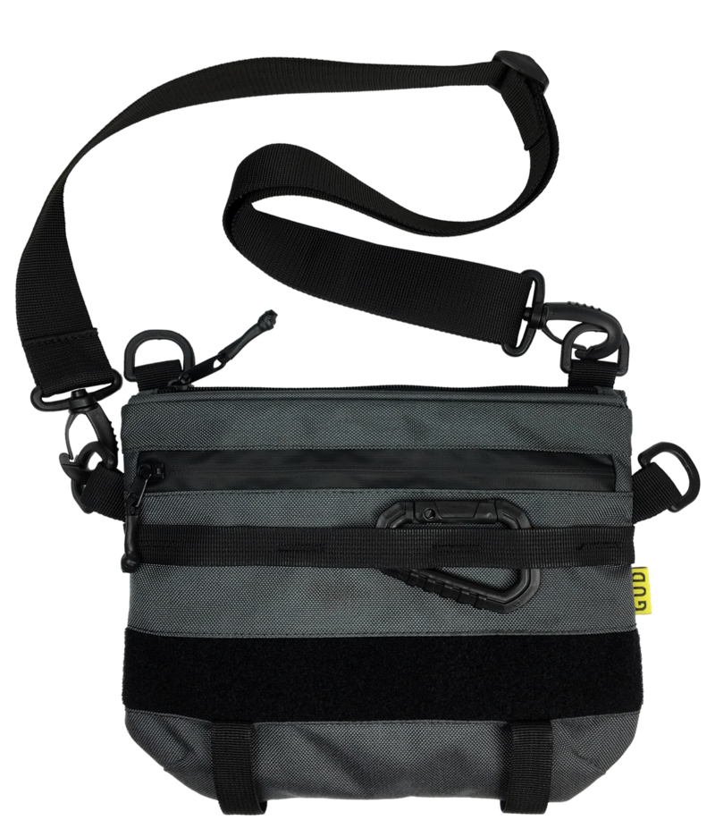 Optimized gud city gear bag graphite  face