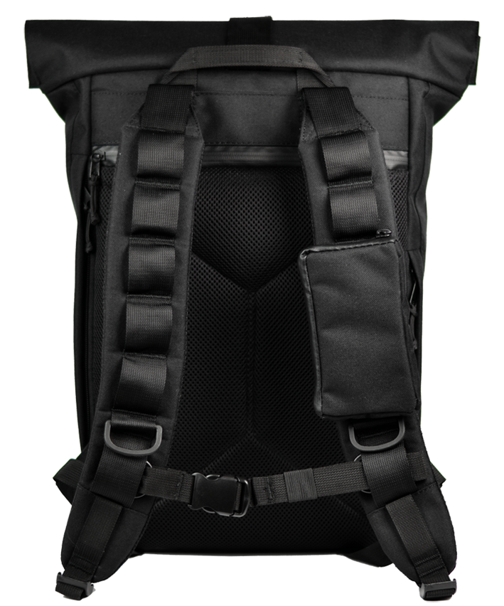 Optimized gud cycling rolltop black  back
