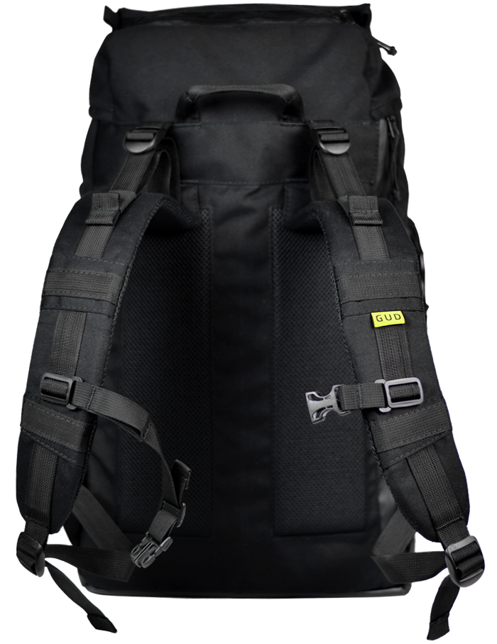 Optimized gud traveller black  back